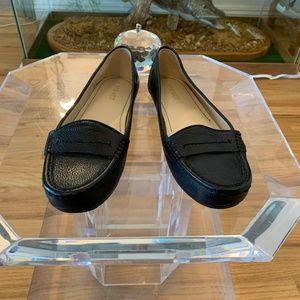 Nine West Black Leather Loafer
